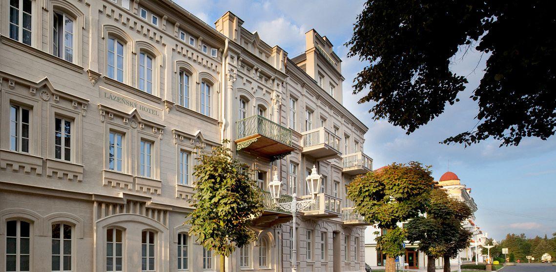 Spa Amp Kur Hotel Praha Franzensbad Frantiskovy L 225 Zne