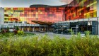 Kuren in Polen: Außenansicht des Hotel Aquarius SPA in Kolberg Kolobrzeg