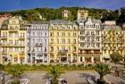 Kuren in Tschechien: Außenansicht vom Astoria Hotel & Medical SPA in Karlsbad Karlovy Vary
