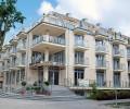 Kuren in Polen: Blick auf das Hotel Avangard und Panorama in Swinemünde