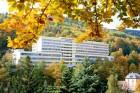 Kuren in Tschechien: Außenansicht vom Kursanatorium Akademik Behounek in St. Joachimsthal Jáchymov