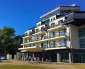 Kuren in Polen: Außenansicht des Hotel Ewerdin Swinemünde Swinoujscie