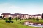 Kuren in Ungarn: Blick auf das Greenfield Golf & Spa im Heilbad Bük