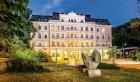 Kuren in Tschechien: Außenansicht des Kurhaus Kaiserbad in Bad Teplitz Lázne Teplice