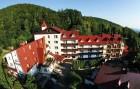 Kuren in Polen: Außenansicht des Hotel Konradowka Krummhübel Karpacz