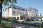 Kuren in Polen: Blick auf das Gesundheits- und Erholungszentrum Król Plaza Spa und Wellness in Jershöft Ostsee