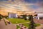 Kuren in Tschechien: Blick auf das Kurbad Aurora Bad Trebon