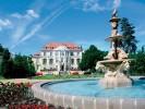 Kuren in Tschechien: Blick auf das Kurhaus Steinbad Bad Teplitz Lazne Teplice