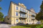 Kuren in Tschechien: Blick auf das Kurhotel Luisa Franzensbad Frantiskovy Lazne