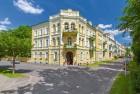 Blick auf das Kurhotel Metropol Franzensbad Frantisvoky Lázne Tschechien