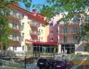 Kuren in Polen: Außenansicht vom Kurhaus Olymp 1 in Kolberg Kolobrzeg