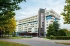 Kuren in Polen: Blick auf die Front des Kurhaus Olymp 3 in Kolberg Kolobrzeg Ostsee