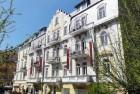 Kuren Tschechien: Blick auf das Residence Hotel Romanza in Marienbad Marianske Lázne