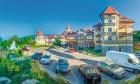 Kuren in Polen: Außenansicht vom Kurhotel St. Lukas Bad Flinsberg Swieradow Zdroj