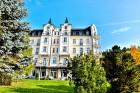 Kuren in Tschechien: Blick auf das Hotel Sun in Marienbad Mariánske Lázne