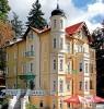 Kuren in Tschechien: Außenansicht vom Hotel Villa Regent in Marienbad Mariánske Lázne Westböhmen