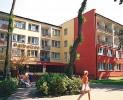 Kuren in Polen: Blick auf das Kurhotel Albatros in Mielno (Großmöllen)