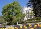 Kuren in Tschechien: Blick auf das Hotel Belvedere in Marienbad Mariánske Lázne