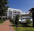Kuren in Polen: Blick auf die Residenz Bielik in Misdroy