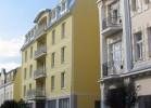 Kuren in Tschechien: Blick auf das Kurhotel Brussel in Franzensbad Frantiskovy Lázne