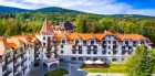 Kuren in Polen: Außenansicht des Hotel Medi-SPA Buczynski Bad Flinsberg Świeradow-Zdroj