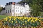 Kuren in Tschechien: Außenansicht vom Ensana Health Spa Hotel Centrálni Lázne in Marienbad