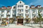 Kuren in Ungarn: Außenansicht Hotel Erzsébet in Heviz