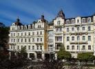 Kuren in Tschechien: Blick auf das Hotel Excelsior in Marienbad Marianske Lázne