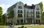 Kuren in Polen: Außenansicht vom Hotel Gold in Swinemünde Swinoujscie