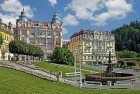 Kuren in Tschechien: Außenansicht vom Danubius Health Spa Resort Hvězda in Marienbad