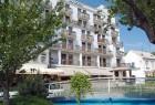 Kuren in der Slowakei: Außenansicht vom Hotel Jalta in Piestany Pistyan