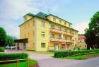 Kuren in Tschechien: Außenansicht vom Kurhotel Jirasek in Konstantinsbad Konstantinovy Lazne