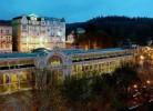 Kuren in Tschechien: Blick auf das SPA Hotel Krivan in Marienbad Mariánske Lázne