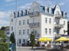 Kuren in Polen: Außenansicht vom Hotel Nautilus in Misdroy Miedzyzdroje