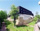 Kuren in Polen: Außenansicht vom Kurhaus Niwa in Kolberg (Kolobrzeg)
