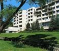 Kuren in der Slowakei: Außenansicht des Kurhotel Ozón im Kaiserbad Bardejov