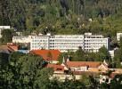 Kuren in der Slowakei: Außenansicht vom Kurhaus Pax in Trencianske Teplice