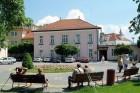 Kuren in der Slowakei: Außenansicht des SPA Hotel Pro Patria in Piestany Pistyan