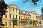 Kuren in Tschechien: Blick auf das Kurhotel Reza in Franzensbad Frantiskovy Lázne