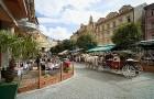 Kuren in Tschechien: Außenansicht vom SPA Hotel Salvator in Karlsbad Tschechien