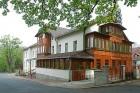 Kuren in Polen: Außenansicht vom Hotel Swieradow in Bad Flinsberg Swieradów Zdrój Isergebirge