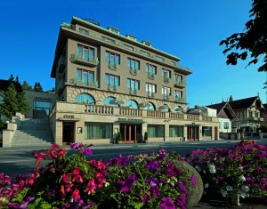 Kuren in Tschechien: Moderner Teil des Alexandria Spa & Wellness Hotel Luhatschowitz Luhacovice