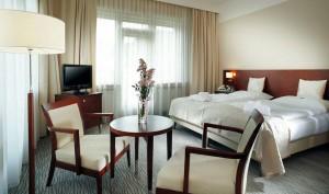 Kuren in Tschechien: Zimmeransicht im Alexandria Spa & Wellness Hotel Luhatschowitz Luhacovice