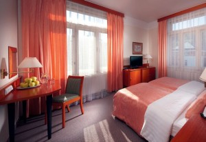 Kuren in Tschechien: Weiteres Zimmerbeispiel im Alexandria Spa & Wellness Hotel Luhatschowitz Luhacovice