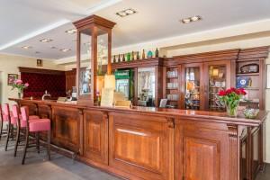 Kuren in Polen: Bar des Kurhotel Villa Anna Lisa in Swinemünde Swinoujscie