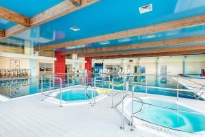 Kuren in Polen: Whirlpools im Kurhotel Arka Medical Spa in Kolberg Kolobrzeg
