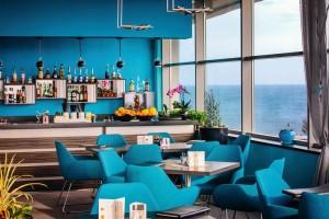 Kuren in Polen: Cafe des Kurhotel Arka Medical Spa in Kolberg Kolobrzeg