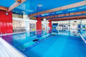 Kuren in Polen: Hallenbad des Kurhotel Arka Medical Spa in Kolberg Kolobrzeg