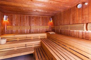 Kuren in Polen: Sauna im Kurhotel Arka Medical Spa in Kolberg Kolobrzeg