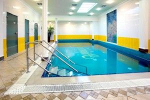 Kuren in Tschechien: kleines Schwimmbad im Astoria Hotel & Medical SPA in Karlsbad Karlovy Vary